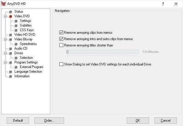 copiar, DVD, Blu-Ray, disco, protegido, AnyDVD HD, eludir, Windows