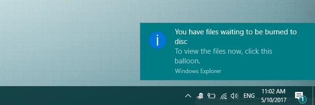 Windows, graba discos