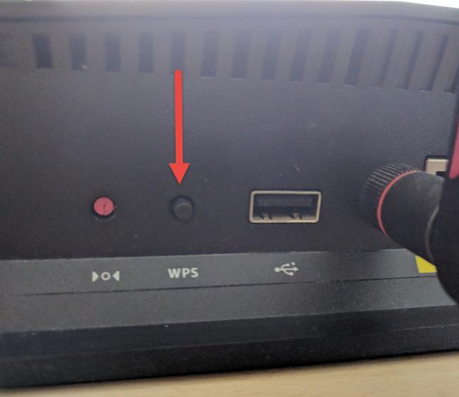 WPS, configuración protegida de Wi-Fi