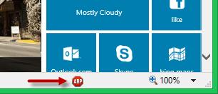 Internet Explorer, Adblock Plus, anuncios, listas, filtros