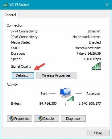 inalámbrico, enrutador, IP, dirección, buscar, detectar, cuál, mostrar
