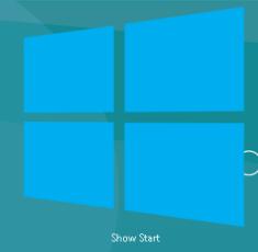 Windows 8 - Mostrar acceso directo de escritorio de inicio